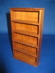 286. Tall Thin Bookcase